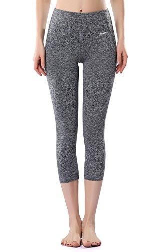 Mirity Women's Tight Yoga Pants Spandex Workout Gym Activewear Capris Yogapants