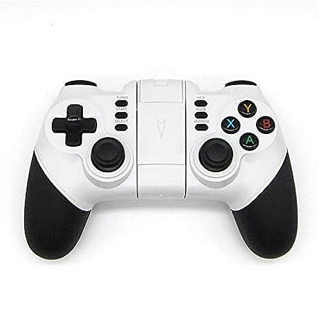 Gamepad Bluetooth,Controller Gioco, Joystick, Joypad, Wireless per iPhone Android Tablet PC,ps3 bianco LanLan ZT**eleMay-180806-013