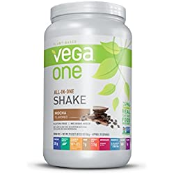 Vega One All-In-One Nutritional Shake, Mocha, 29.5 oz. (20 Servings)