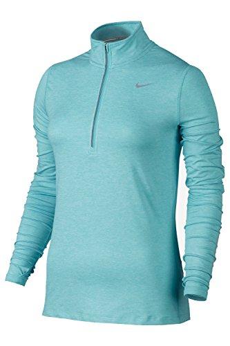 Nike Women's Element Half-Zip Aqua (Medium)