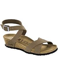 Women's Birkenstock, Lola Low Heel Wedge Sandals
