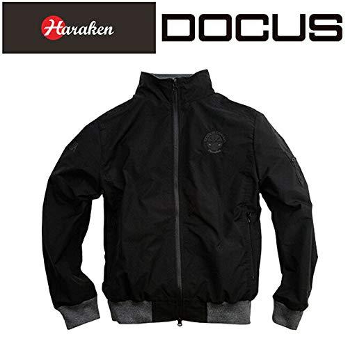ドゥーカス DOCUS MAウィンド ジャケット メンズゴルフウェア DCM18A006 Medium ブラック B07KP678NP