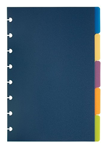 TUL Custom Note-Taking System Discbound Tab Dividers, 5 1/2