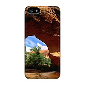DaMMeke Premium Protective Hard Case For Iphone 5/5s- Nice Design - Canyon