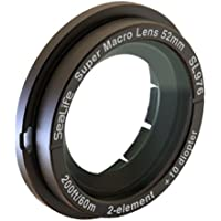 SeaLife Super Macro Lens with 52mm DC Thread Mount Adapter