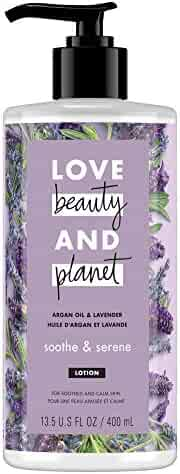 Love Beauty And Planet Body Lotion Argan Oil and Lavender 13.5 oz