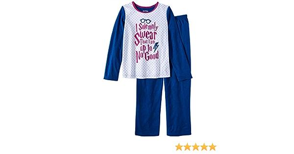 "Holliday Kids Harry Potter Pajama Set /""I Solemnly Swear I Am Up To No Good/"""