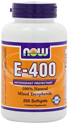 NOW Foods E-400 Mt, 250 Softgels