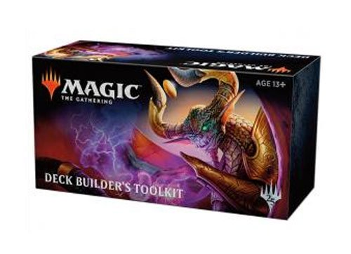 MTG Magic The Gathering Core 2019 Deck Builder's Toolkit: 4 booster packs + more