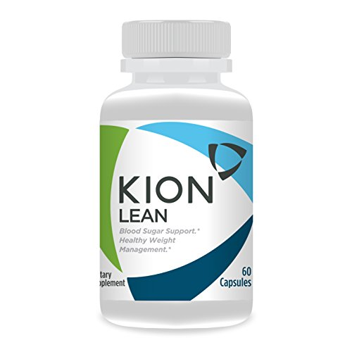 Kion Lean | Supports Weight Management, Liver Health, Blood Sugar Regulation, Healthy Body Fat Levels, and Longevity | Contains Bitter Melon (Glycostat) and Rock Lotus (Kingsun) | 30 Servings