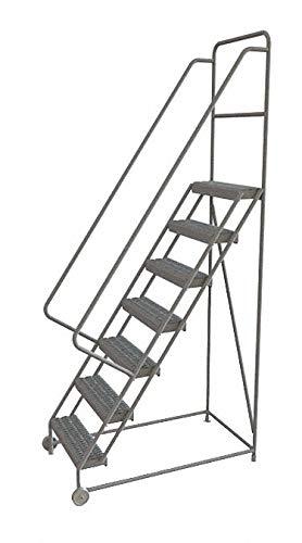 Tri-Arc KDTF107242 - Tilt and Roll Ladder 7 Step Serrated