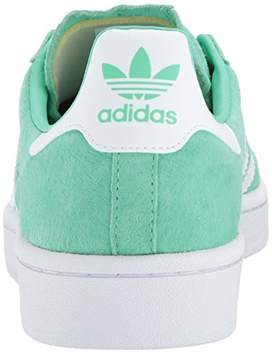 adidas Originals Men's Campus Sneakers -, Green Glow Crystal White, (11 M US) by adidas Originals (Image #2)