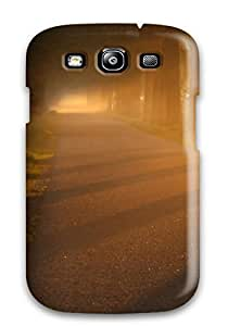 AIYAYA Case Cover Protector Specially Made For Galaxy S3 Trees And Mist