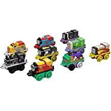 Fisher-Price Thomas & Friends MINIS DC Super Friends Mighty Mash-Up Trains, 9 Pack