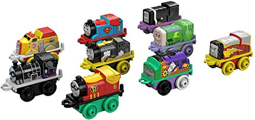 Fisher-Price Thomas & Friends MINIS, DC Super Friends #1 (9-Pack)