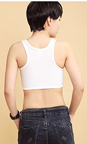 BrandHong - Corsé - para mujer blanco