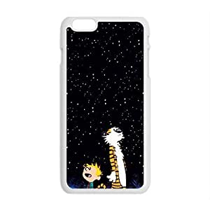 Dark night star boy and tiger Cell Phone Case for iPhone plus 6