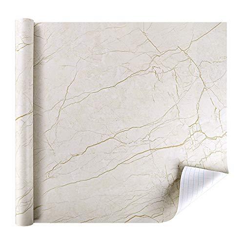 Rabbitgoo 174 Marble Contact Paper Self Adhesive Vinyl Film