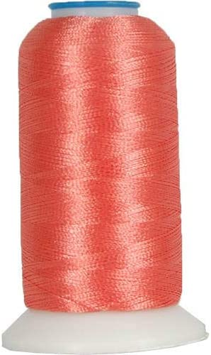 Dark Coral 220 Colors Available No 1000M 289 Threadart Polyester Machine Embroidery Thread By the Spool