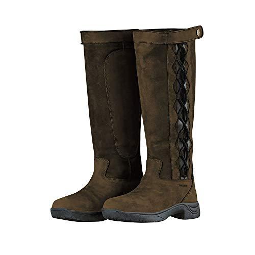 Dublin Adults Unisex Pinnacle Leather Boots II (8.5 US) (Dark Brown)