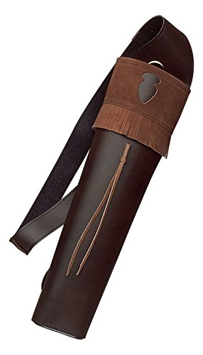 Leather Archery Quivers (Neet Archery Traditions Back Quiver Color Brown Leather)