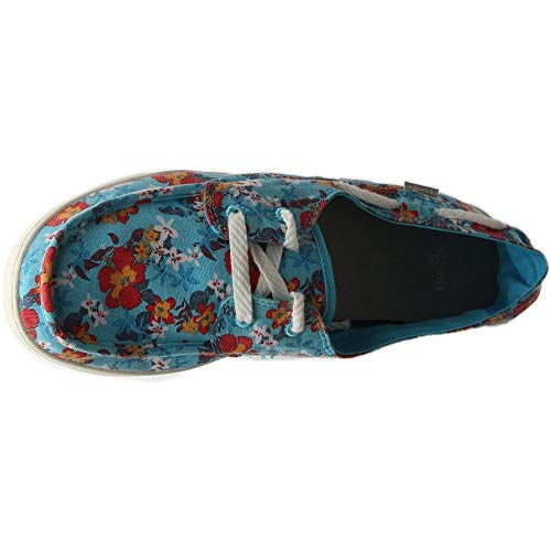 41 Shoes blue Sail Red O Shoe Prints Size Sanük 2017 Women Pair 0xIFqIwv