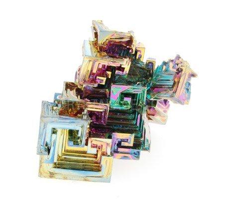 Bismuth Crystal Specimen Bismuth - Medium by CrystalAge