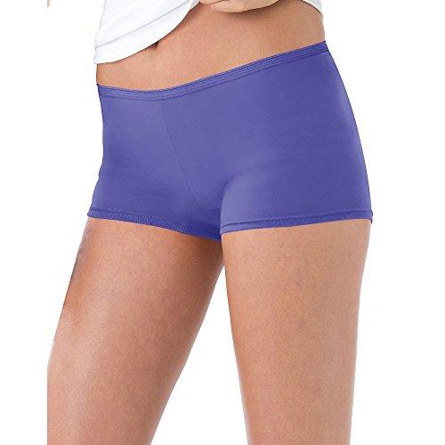 Short Leg Panties (Hanes Women's 6 Pack Boyshort , Assorted, Size 8)