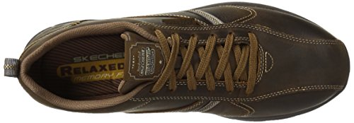 Skechers Superior Levoy, Basses Homme, Marron - Braun (CDB), US 10 3E|UK 9|EU 43