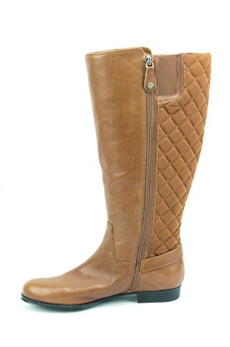 Isaac Mizrahi Live Tally Womens Brown Leather Riding Boots US9 WC CAquS