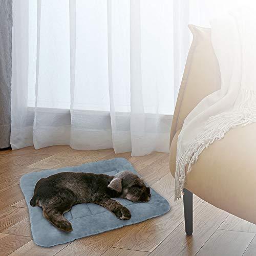 Hero Dog Medium Dog Bed Crate Pad Mat 35 Inch Washable Matteress Anti Slip Cushion for Pets Sleeping