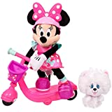 "Minnie Helper Scooter 13"" Feature Plush - Brown Mailer"