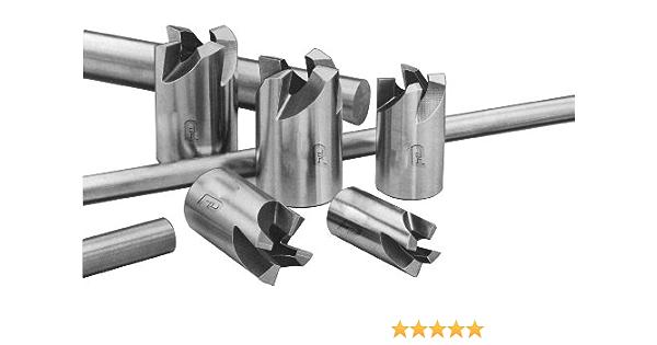 F/&D Tool Company 17942-FF710 Three Flute End Mill 5//16 Mill Diameter 3//8 Shank Diameter 3.125 Overall Length Long 1.375 Flute Length Single End