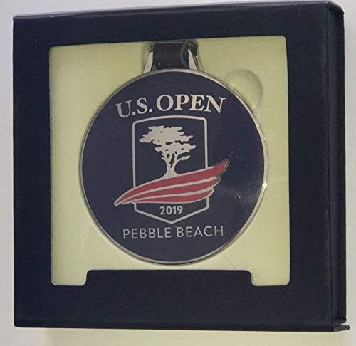 - 2019 U.S. Open golf bag tag pebble beach pga cloisonne new