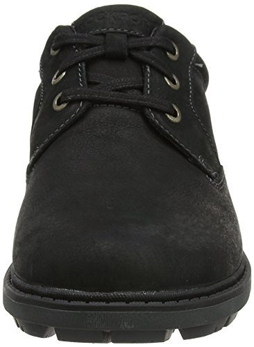 Bucks Uomo Toe Tough Nero Rockport Scarpe Stringate Oxford Black 2 Plain qHBxxw58