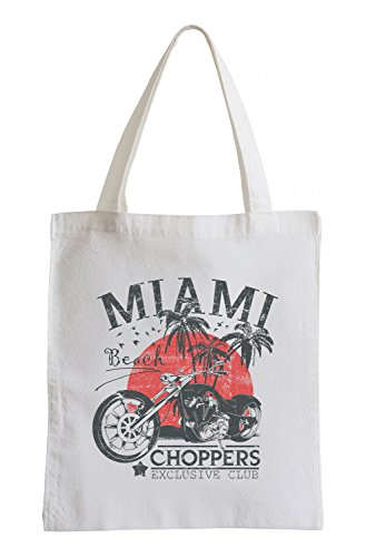 Miami-Choppers Cooler Party Jutebeutel FVy9XV