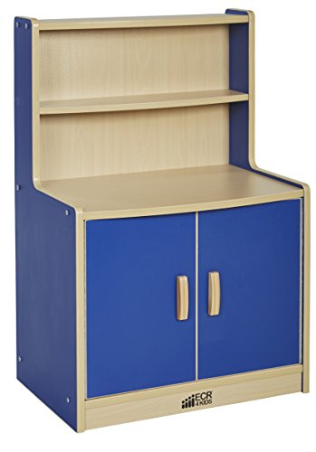 ECR4Kids Colorful Essentials Activity Kitchen Cupboard Pl...