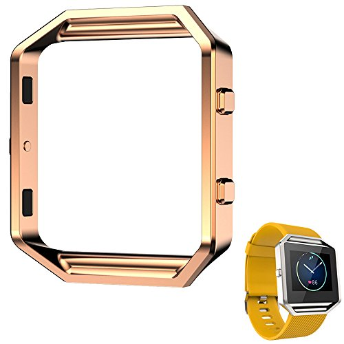 Spritech(TM) Elegance Watch Bezel Frame Replacement,Watch Blaze Accessory Metal Clasp for Fitbit Blaze - Elegance Chronograph