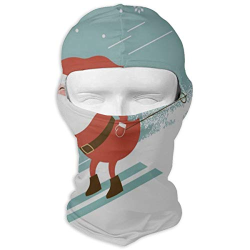 Balaclava Christmas Santa Claus Snowflake Full Face Masks UV Protection Ski Hat Mask Motorcycle Hood For Cycling Snowboard Women Men