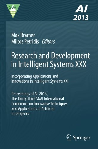 Research and Development in Intelligent Systems XXX: Incorporating Applications and Innovations in Intelligent Systems X