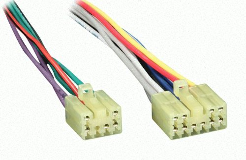 41ucLHSzzlL amazon com reverse wiring harness for 1987 2007 toyota lexus lexus is300 radio wiring harness at gsmportal.co