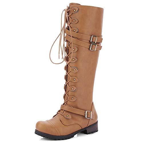 Hebillas Mujer Tamaño Cinturón nbsp; De Frescas 43 Up Zapatos Zip nbsp;rodilla Dropship Huang Montar Botas Altas Hoesczs 34 Moda Gran nbsp; xOwA6
