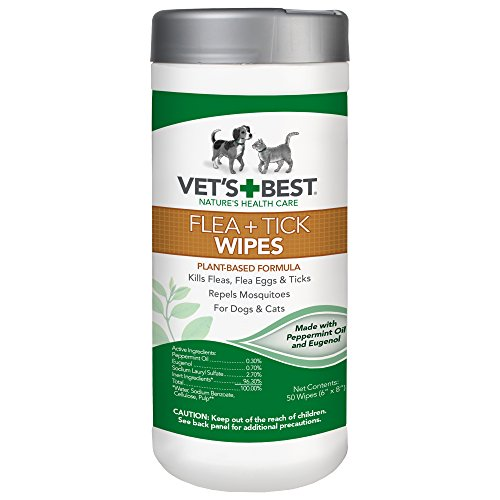 Flea and Tick Wipes for Dogs and Cats