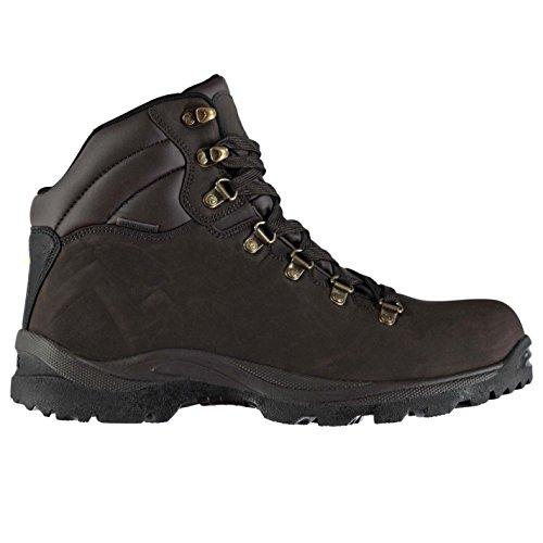 Gelert Mens Atlantis Walking Boots Scarpe Stringate Imbottite Impermeabili Con Collo Alla Caviglia Marrone