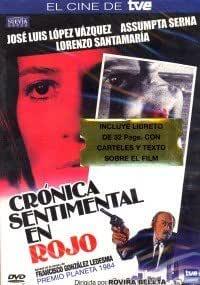 CRONICA SENTIMENTAL EN ROJO Non-USA DVD format: PAL, Region 2 -Import- Spain: Amazon.es: Cine y Series TV