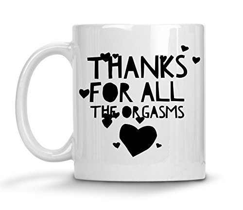 Dating Anniversary Gifts For Men - Sexy Beast Mug - Funny Naughty Valentine's Day Gag Fiance Girlfriend Boyfriend Husband Orgasm Coffee Cup
