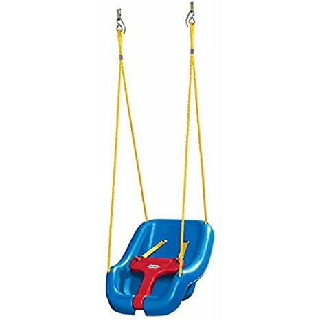 Amazon Com Little Tikes 2 In 1 Snug N Secure Swing Toys