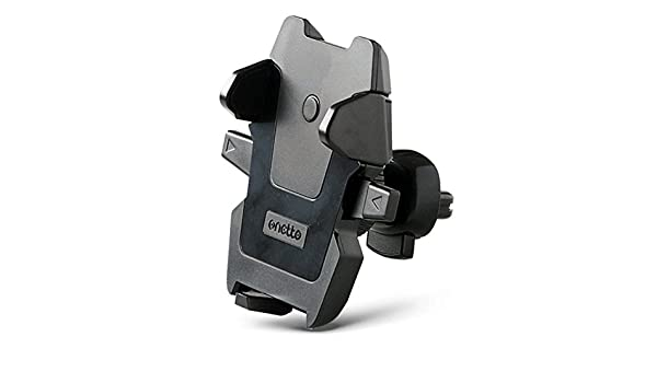 Onetto Car Phone Holder Air Vent Mount 360 Rotation for iPhone Android Galaxy Samsung and 2.1 to 3.2inches Wide Universal Smartphones Black FB001061001