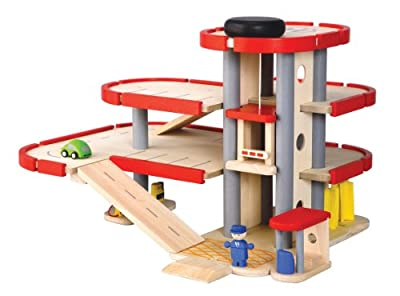 Plan Toys City Series Parking Garage by Plan Toys