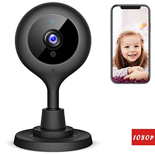 Victure 1080P FHD Baby Monitor with WiFi IP Camera Home Wireless Security Camera with Night Vision Sound/Motion Detection 2-Way Audio Indoor Surveillance Monitor Baby/Elder/Pet by Victure